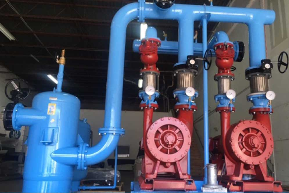Pump Skids Manufacturing